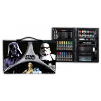 Star wars Matite briefcase 87 pcs