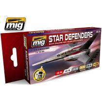 SCI-FI Colors star defenders set 7130
