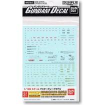 1/100 GD-31 MG Strike Freedom Gundam Decal