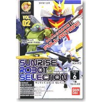 Sunrise Robot Selection Vol.2 6 PCS