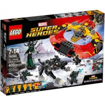 The ultimate Battle for Asgard super heroes Lego