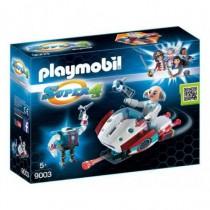 Super 4 - Skyjet Con Dottor X E Robot Playmobil