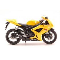 Suzuki GSX R600 Yellow Moto by Maisto