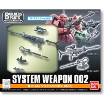 System Weapon 002 by Bandai