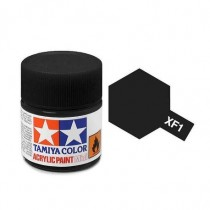 XF-1 Flat Black . Tamiya Color Acrylic Paint (Flat) – Colori opachi