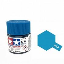 Tamiya Color Acrylic Paint (Gloss) – Colori lucidi. X-14 Sky Blue