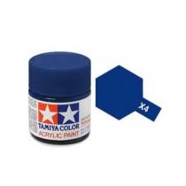 Tamiya Color Acrylic Paint (Gloss) – Colori lucidi. Mini X - 4 Blue