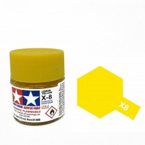 Tamiya Color Acrylic Paint (Gloss) – Colori lucidi. Mini X - 8 Yellow lemon