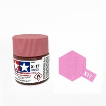 X-17 Pink . Tamiya Color Acrylic Paint (Gloss) – Colori lucidi