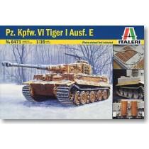 Pz. Kpfw. VI Tiger I Ausf.E Italeri