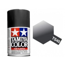 Metallic Black Tamiya Spray TATS40