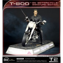 T-800 On Motorcycle LTD Single ED Statue
