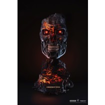 T2 T800 Battle Damaged LTD Art Mask
