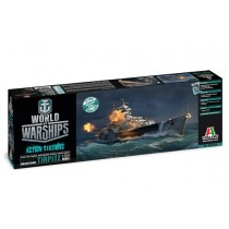World of Warships Tirpitz Italeri