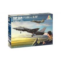 """""""Top Gun"""" F-14A vs A-4F"""