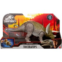 Jurassic World Dinosuoni Triceratopo Mattel