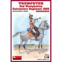 Trumpeter 2nd Westphalianfan Cavalry Regiment 1809 by MiniArt