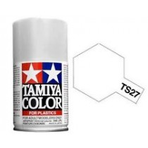 Matt white Tamiya Spray