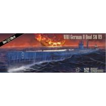 WWI German UBoat SM U9 by Das Werk