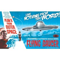 Plan 9 From Outer Space Flying Saucer Model Kit