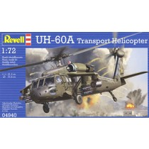 UH-60A Transport Helicopter Plastic Model Kit