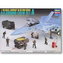 U.S. Ground Crew Set A by Hasegawa