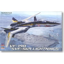 VF-19A SVF-559 Lightnings w/High Maneuver Missiles