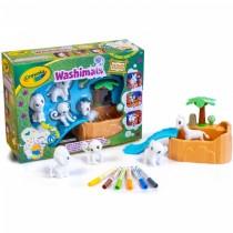 Washimals Set Safari Crayola