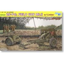 British 25pdr Field Gun Mk.II w/Limber