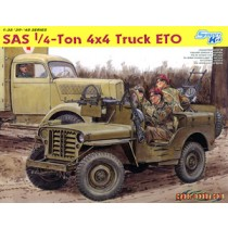 SAS Raider 1/4 Ton 4x4 Truck ETO 1944 + 2nd SAS Regiment Figure Set