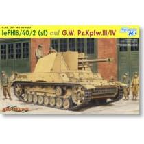 WW.II le.FH18/40/2(sf) auf G.W.Pz.Kpfw.III/IV