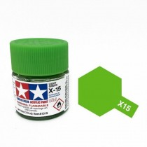X-15 Light Green. Tamiya Color Acrylic Paint (Gloss) – Colori lucidi