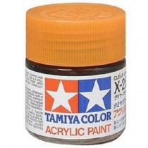 X-26 Clear Orange. Tamiya Color Acrylic Paint (Gloss) – Colori lucidi