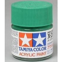 X-28 Park Green.Tamiya Color Acrylic Paint (Gloss) – Colori lucidi