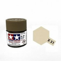X-31 Titanium Gold. Tamiya Color Acrylic Paint (Gloss) – Colori lucidi