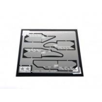 Micro-cutter 0,15mm per plastica