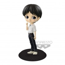 Evangelion Movie Q Posket Mini Figure Shinji Ikari Ver. A