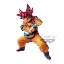 Dragon Ball GT Blood of Saiyans PVC Statue Super Saiyan God Son Goku