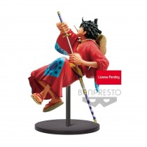 One Piece King Of Artist PVC Statue Monkey D. Luffy Wanokuni