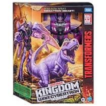 Transformers Generations War for Cybertron: Kingdom Leader Class Actionfigur Megatron (Beast)