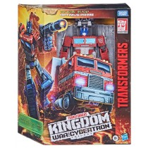 Transformers Generations War for Cybertron: Kingdom Action Figur Leader Class Optimus Prime