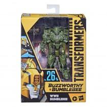 Transformers Buzzworthy Bumblebee Studio Series Deluxe Action Figures WWII Bumblebee