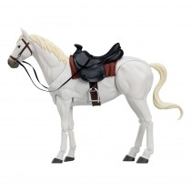Original Character Figma Action Figure Horse ver. 2 (White)