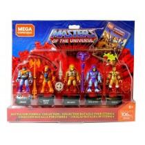 Masters of the Universe Mega Construx Probuilder Action Figures 5-Pack Battle for Eternia