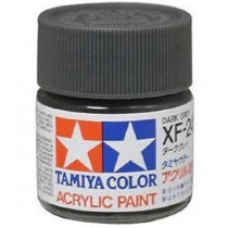 XF-24 Dark Grey. Tamiya Color Acrylic Paint (Flat) – Colori opachi
