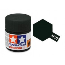XF-27 Black Green. Tamiya Color Acrylic Paint (Flat) – Colori opachi