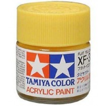 XF-3 Flat Yellow. Tamiya Color Acrylic Paint (Flat) – Colori opachi