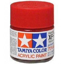 XF-7 Flat Red. Tamiya Color Acrylic Paint (Flat) – Colori opachi