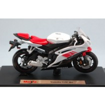 Yamaha YZF-R6 White Moto by Maisto