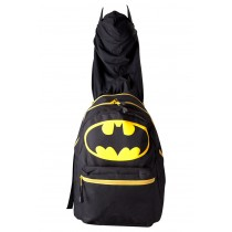 Batman Black Hooded Backpack